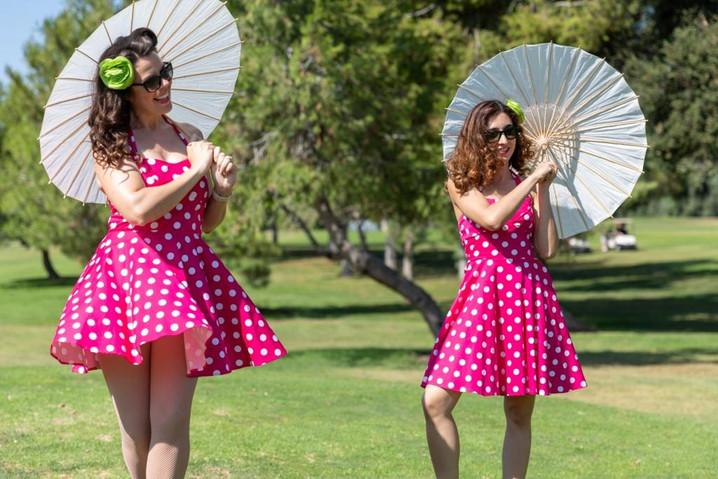 The Lovely Ladies from Pin-Ups on Tour