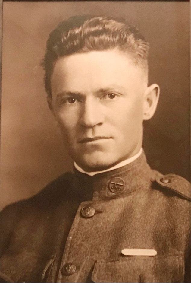 WWI Photo of 1Lt Jones