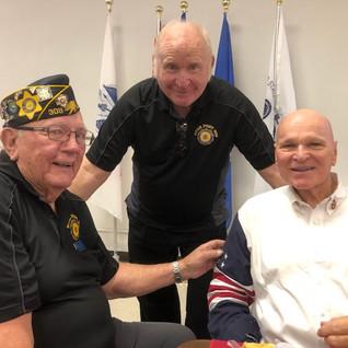 Ron Nybakken, Roger De Haan, and Tom Vetter