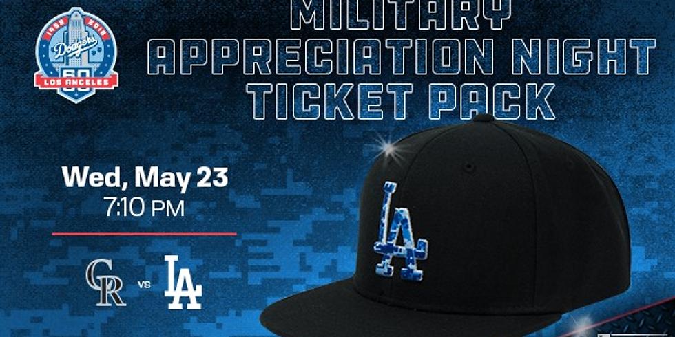 Dodgers Military Appreciation Game