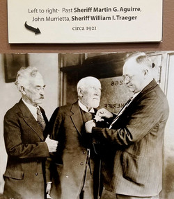 Sheriff Traeger circa 1921