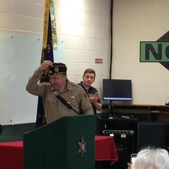 Sheriff Villanueva is a legacy members of the American Legion following in his father's footsteps