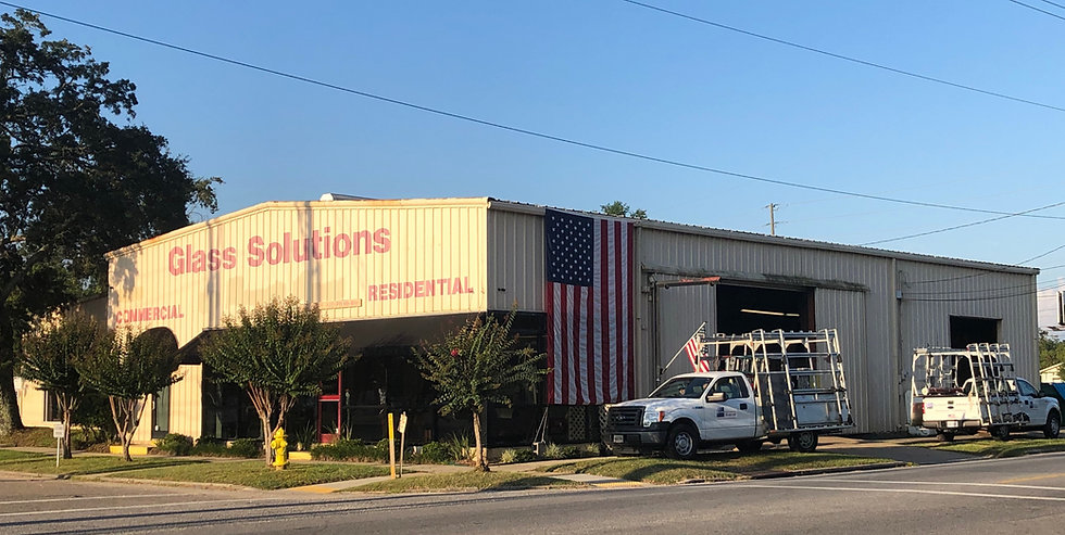 Veteran owned small business, glass shop, mississippi gulf coast, gulfport, residential and commercial window repair