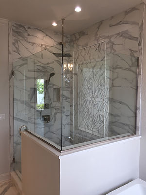 Shower glass, Glass shower enclosure, frameless showers, mississippi