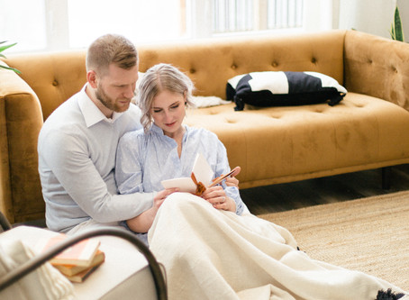 An Intimate Elopement at Home
