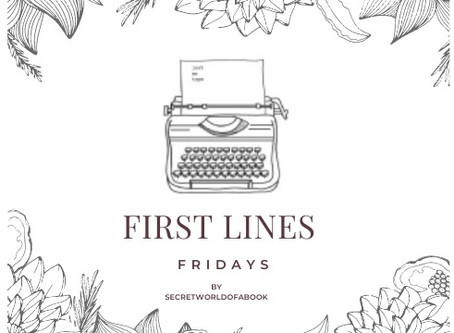 - First Lines Friday October 23 2020 -