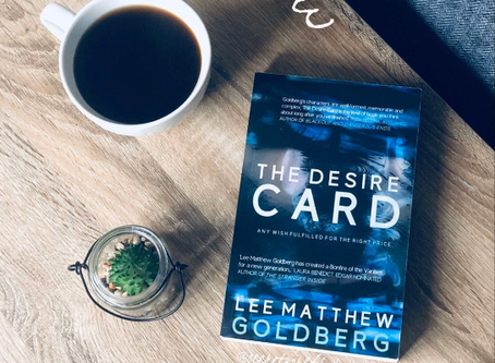 The Desire Card by Lee Matthew Goldberg ★★★★☆