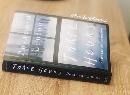 Three Hours by Rosamund Lupton ★★★★★