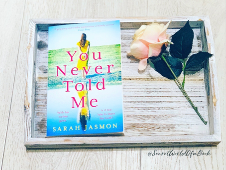 You Never Told Me by Sarah Jasmon ★★★☆☆