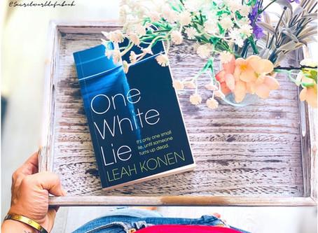 One White Lie by Leah Konen