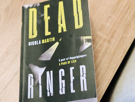 Dead Ringer by Nicola Martin ★★★☆☆