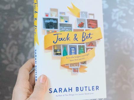 Jack & Bet by Sarah Butler ★★★☆☆
