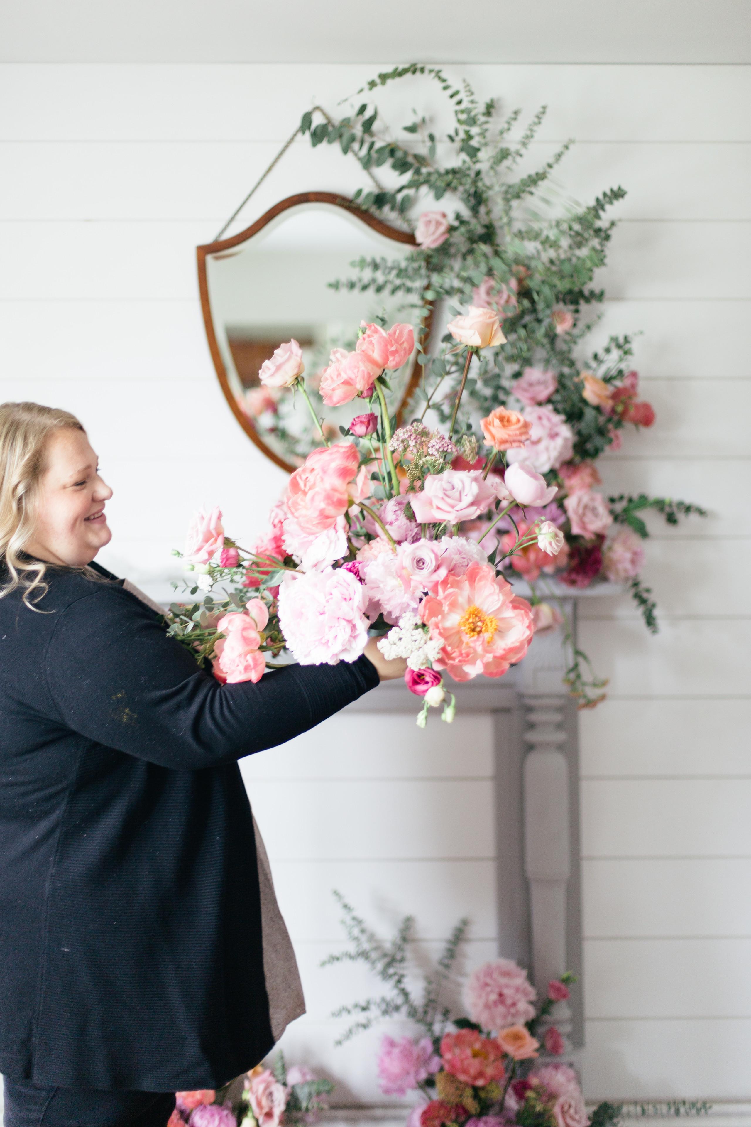 Branding session for floral designer Twig and Twine Floristry, Halifax Wedding Floral designer