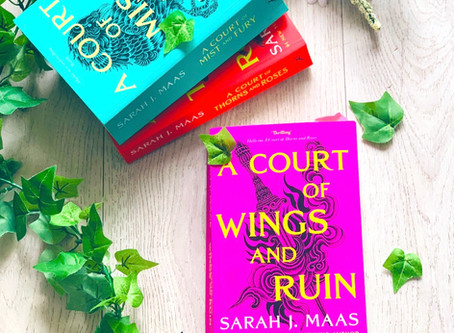 A Court Of Wings And Ruin by Sarah J Maas ( book three )