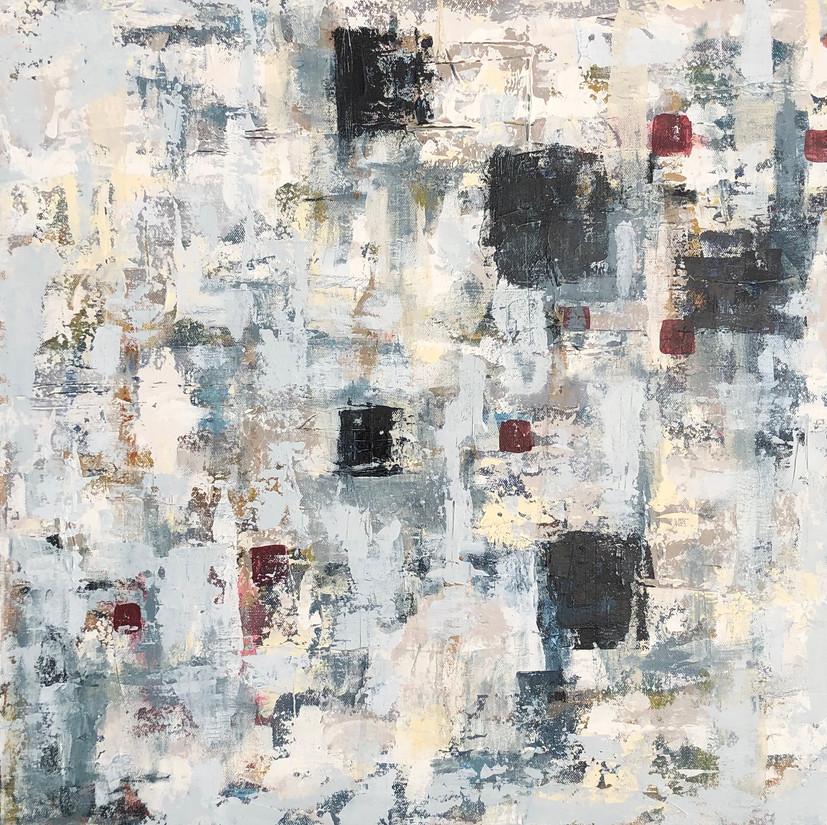 """24"""" x 24""""  Acrylic on Canvas"""
