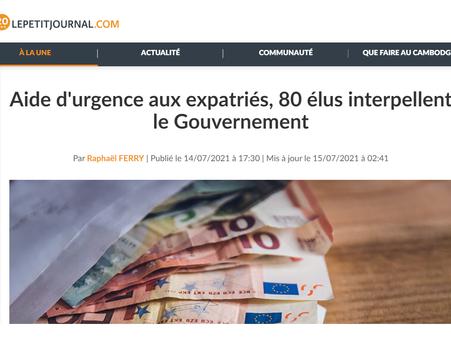 Interview de Florian Bohême pour  Le Petit Journal à propos du dispositif SOS COVID-19