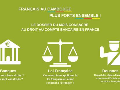 Dossier du mois - septembre 2020 : Fermeture arbitraire de votre compte bancaire en France.