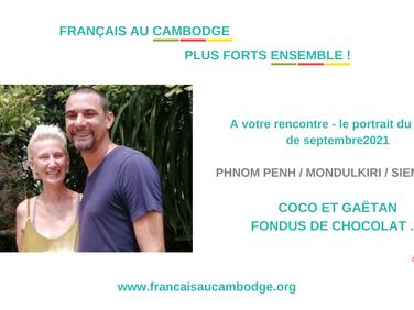 Le portrait d'octobre 2021 : Gaëtan et Corinne, fondus de chocolat !