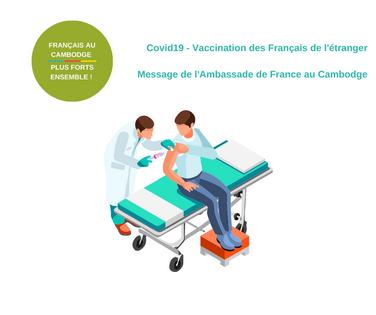 COVID-19: Message de l'Ambassade de France à la communauté française à propos de la vaccination.