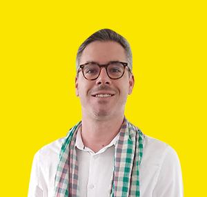 Florian Bohême, Siem Reap, 35 ans.