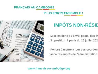 Impôts des particuliers non-résidents en France, les précisions de l'administration.
