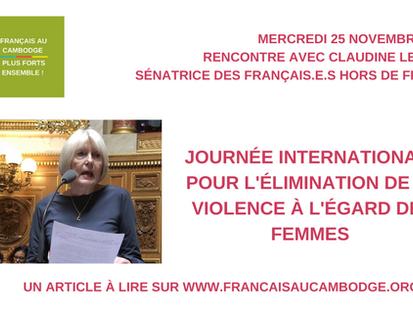 Le dossier du mois d'octobre 2020 : violences faites aux femmes expatriées, quels moyens d'action ?