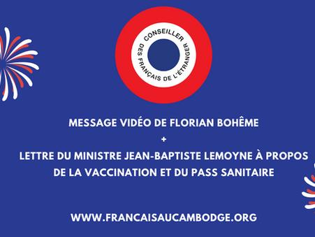 14 juillet : Message de Florian Bohême, lettre du Secrétaire d'Etat Jean-Baptiste Lemoyne
