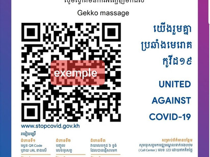 Comment utiliser l'application #STOPCOVID au Cambodge ?