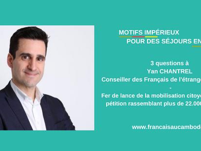 3 questions à Yan Chantrel, élu des Français au Canada sur les nouvelles règles pour aller en France