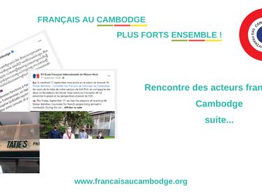 Rencontre des acteurs français au Cambodge - suite