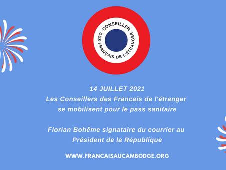 Pass sanitaire pour les Français de l'étranger - notre lettre au Président de la République
