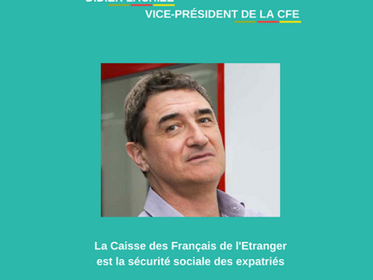 Dossier du mois - santé : Rencontre avec Didier Lachize, vice-Président de la CFE.