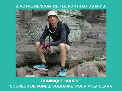 Le portrait de décembre 2020 : Dominique Bourne, coureur de fonds, solidaire