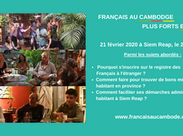 Retour sur la réunion du 21 février à Siem Reap