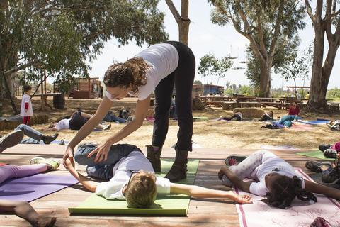Farm to Yoga