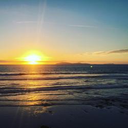 baja retreat sunset instagram