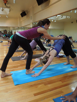 Hands On Assistance for Yoga Teacher