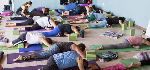 Second Saturday Sangha kapotasana community