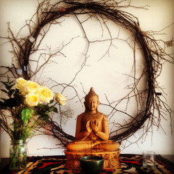 buddha altar at centre of gravity