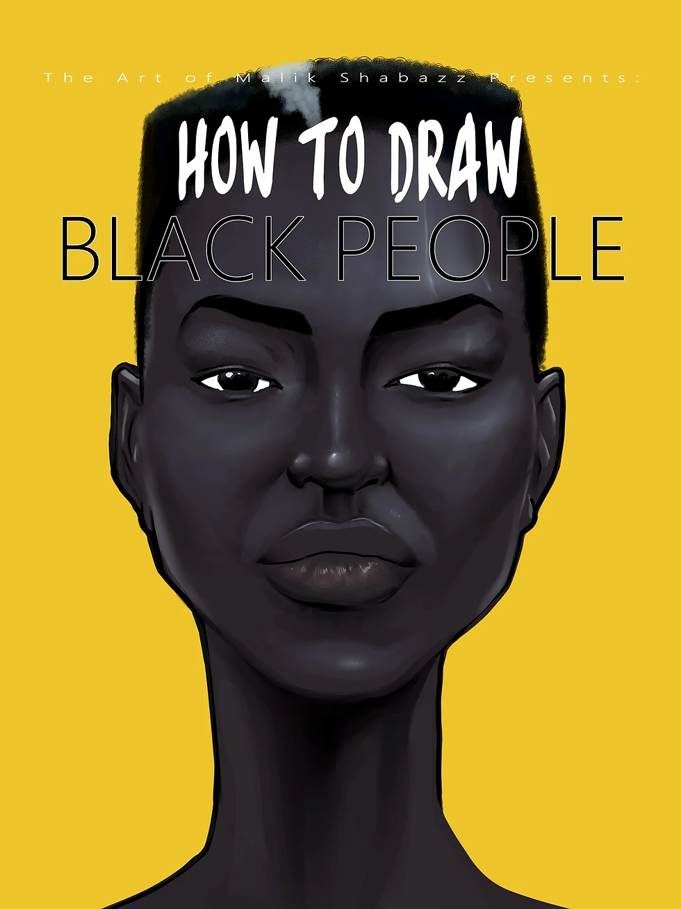 How to draw black people book cover