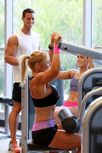 Weight Machines and Personal training