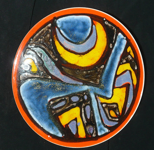 Poole Delphis Plate - SOLD