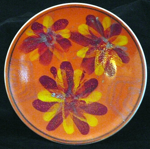 Poole Pottery Delphis Plate - 8in