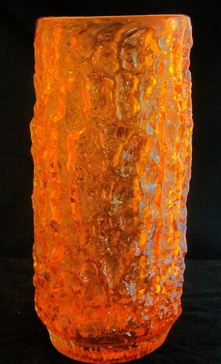Rare Extra Large Whitefriars Bark Vase