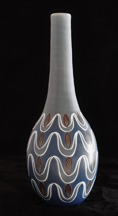 Extremely Rare Poole Pottery Freeform Vase
