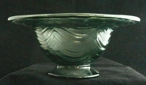 Keith Murray Royal Brierley Glass Bowl