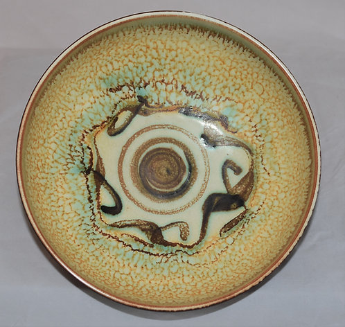 Poole Pottery Guy Sydenham Atlantis Bowl