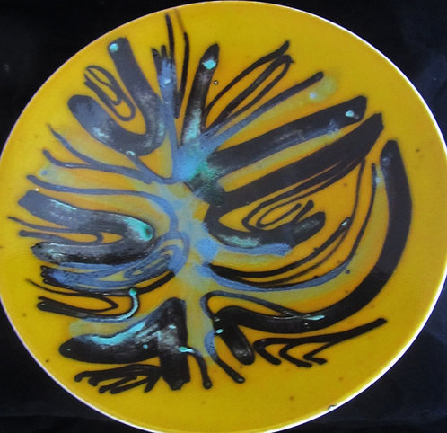 Poole Pottery Delphis Bowl - 10.5 inches