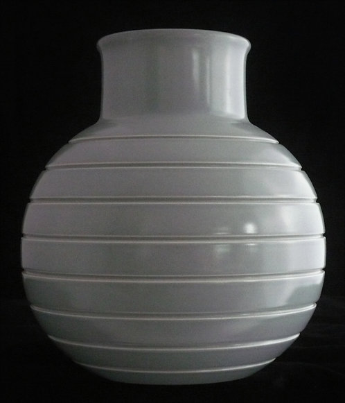 Keith Murray Grey Bomb Vase - SOLD