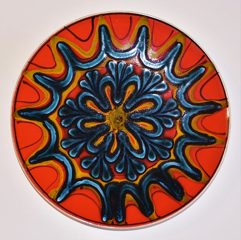 Poole Pottery Delphis Charger - SOLD